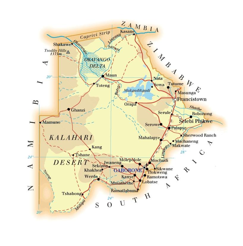 Index Of Country Africa Botswana Maps