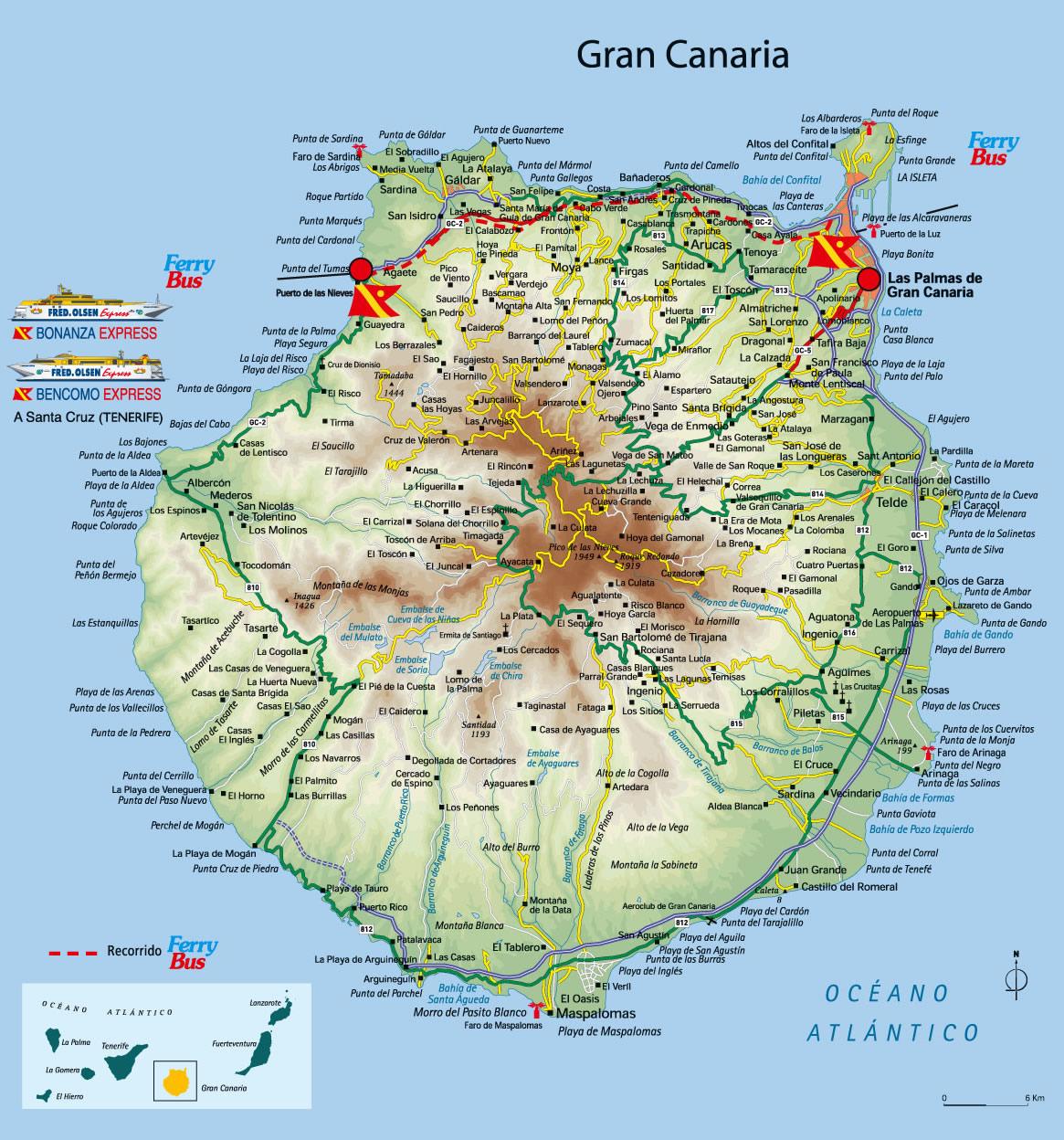Index of countryafricacanaryislandsmaps