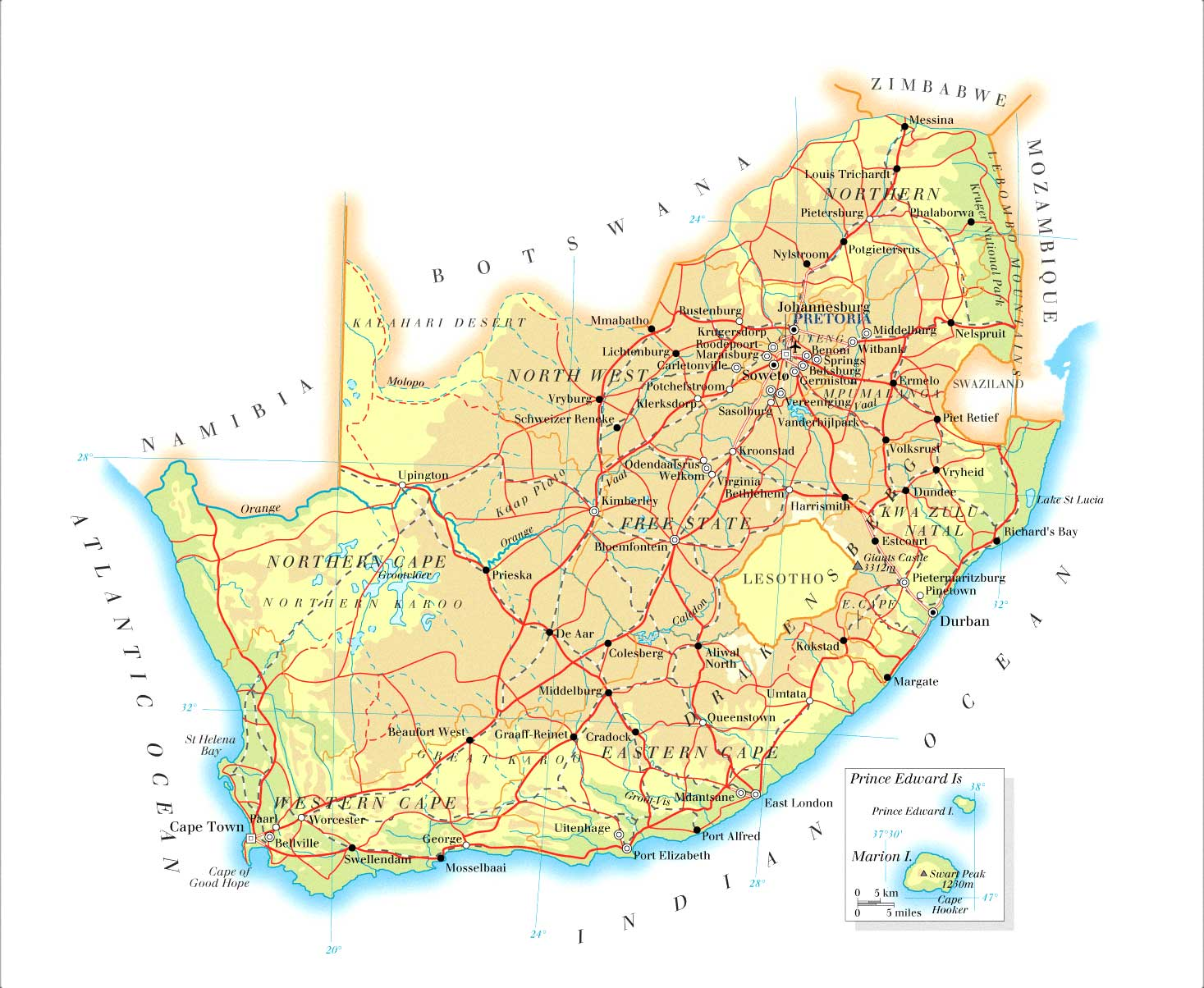Index of countryafricasouthafricamaps