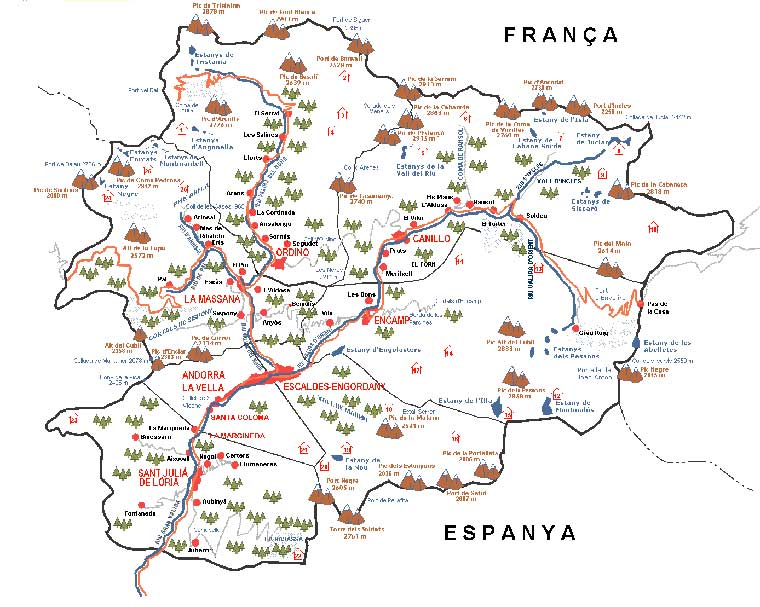 Index Of Country Europe Andorra Maps