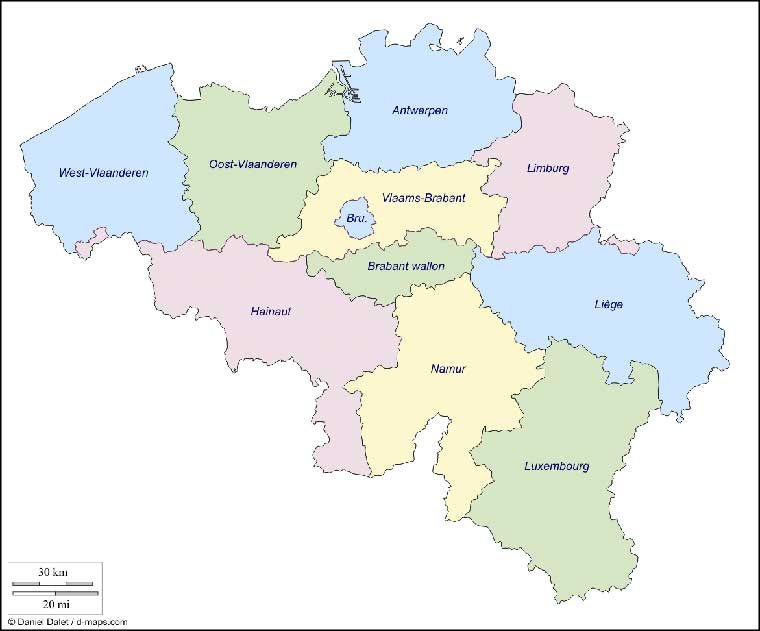 Belgium Map in Europe Bing images