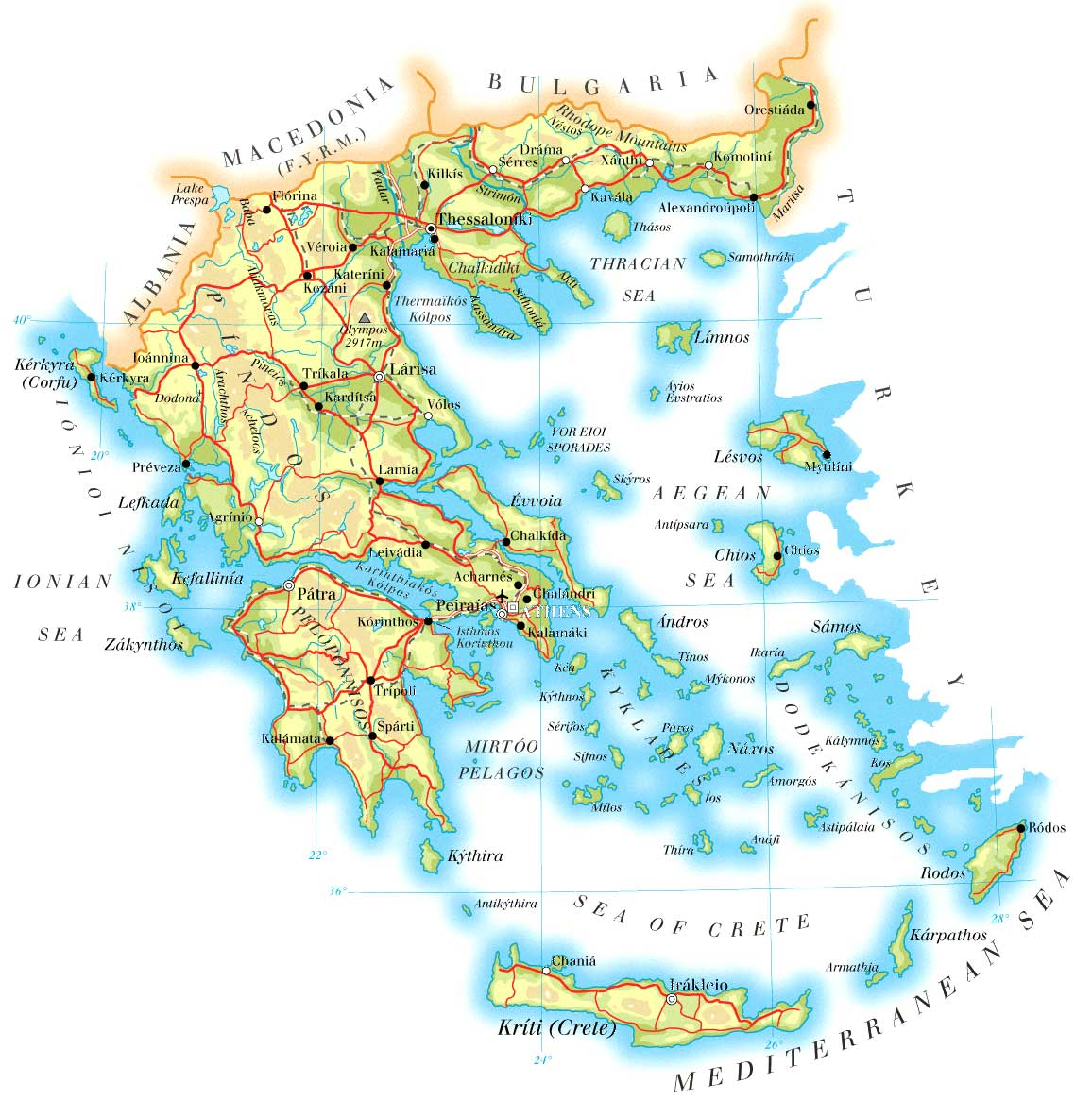 Country Of Greece Map.Index Of Country Europe Greece Maps