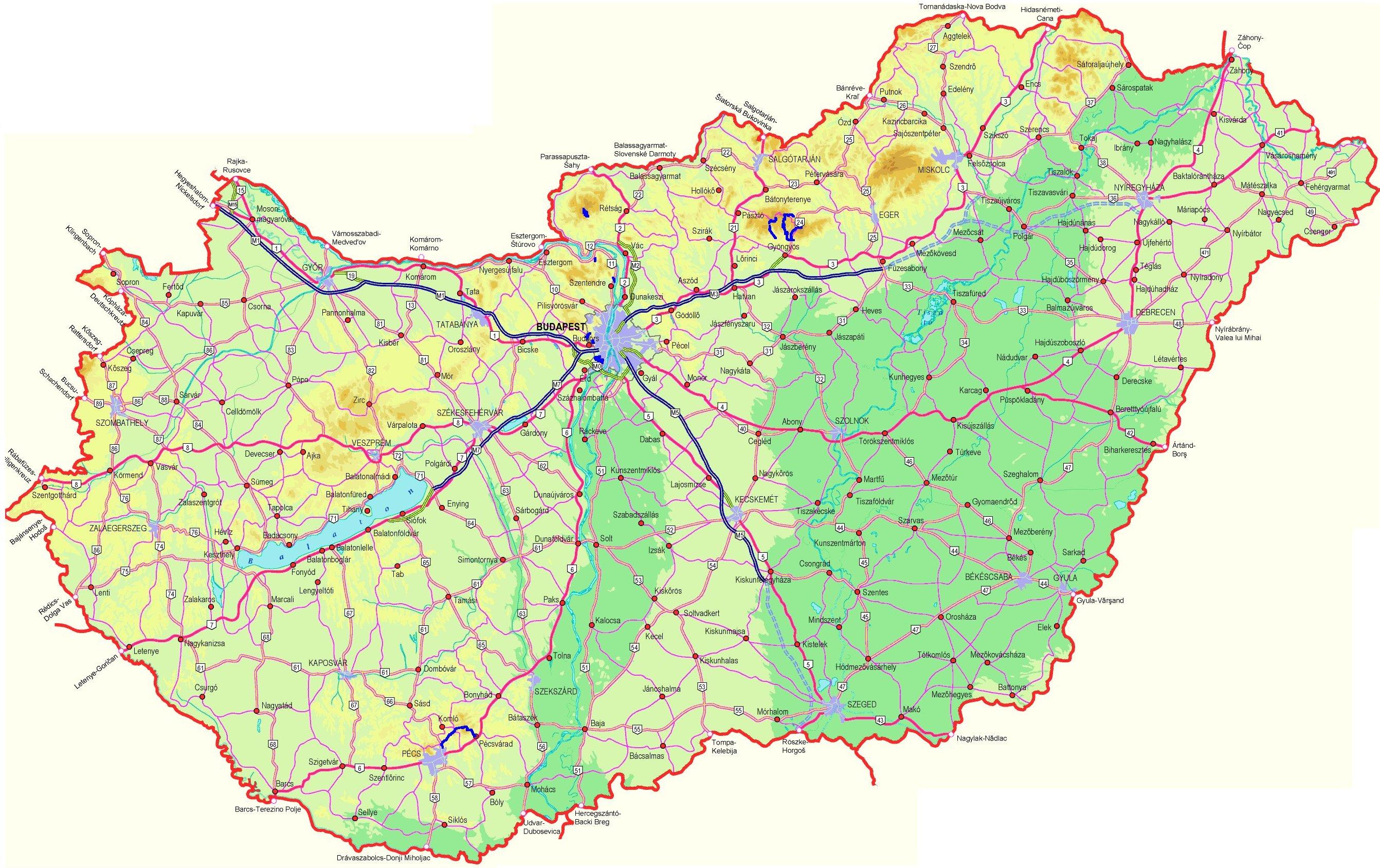 online térkép magyarország Index of /country/europe/hungary/maps online térkép magyarország