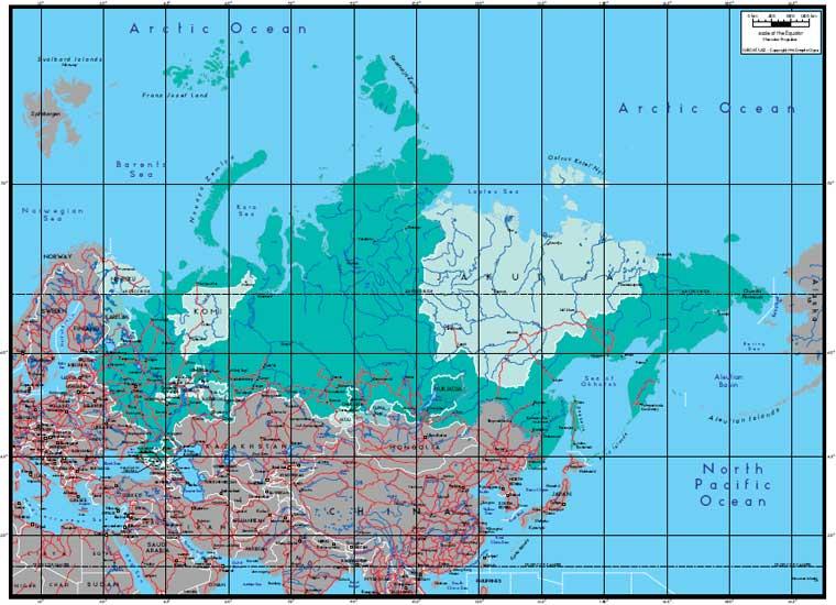 карта административного