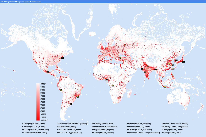 Городское население концентрируется прежде всего в больших городах почему