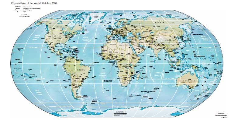 Карта Физическая Мира Скачать - фото 11