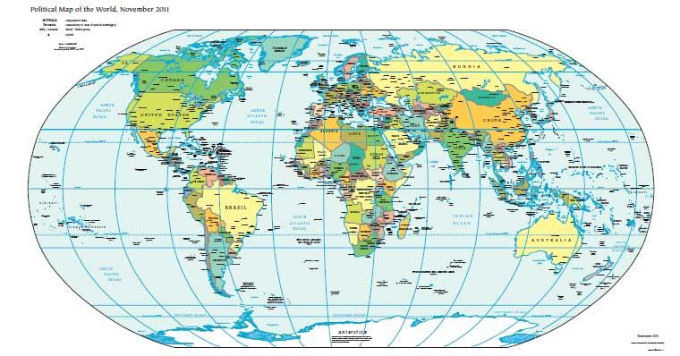 Скачать карта мира pdf